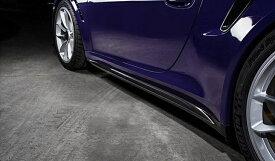 《TECHART テックアート》サイドスカート カーボンPORSCHE ポルシェ 991 GT3 RS