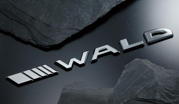 《WALD ヴァルド》 SEPARATE SLASH EMBLEM セパレートスラッシュエンブレム