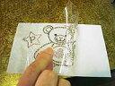 ラインストーン用耐熱転写フィルム[A4ノビ 5枚入](210×320mm)