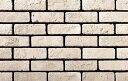 ブリックタイル 本格的 DIY レンガ 白 レンガタイル 激安【ニューブリック ホワイト:フラット】セメント系壁面ブリックタイル 1ケース約1m2入り