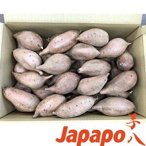 【芋八Japapo正規販売店】安納芋 鹿児島県産さつまいもS〜Mサイズ5kg箱 あんのういも(店頭販売の焼き芋をご自宅で。スウィートポテト、やきいも)鹿児島工場直送!代引きはご利用になれま