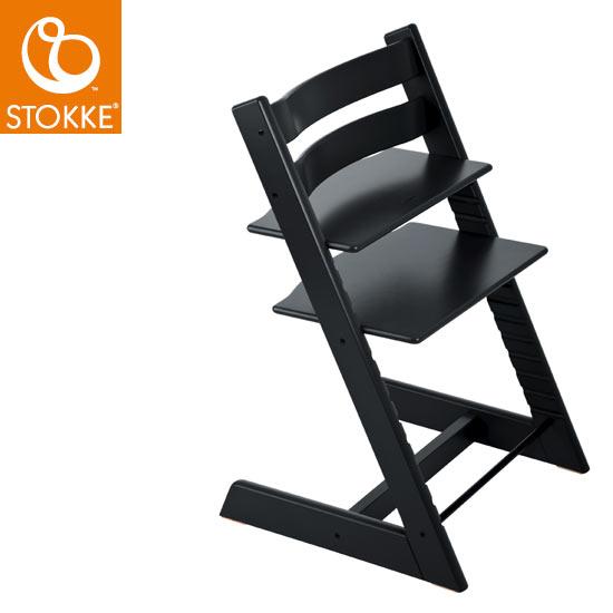 【ストッケ正規販売店】予約:2018年3月中旬ストッケトリップトラップStokke Tripp Trapp Chair(ブラック)