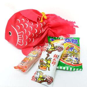 金魚のラッピング袋入り お菓子詰め合わせ 1個 (取合せ/詰め合せ/詰合せ)