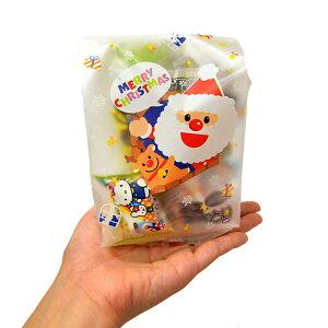 【クリスマス】おもちゃ入菓子詰め合わせ 半透明おしゃれ袋入 1個 (取合せ/詰め合せ/詰合せ)