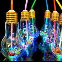 ディズニーオールスター光る電球ボトル約500ml(電球ソーダ用ボトル 光る容器) 30入