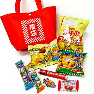お菓子詰め合わせ 福袋トートバッグ入(取合せ/詰め合せ/詰合せ)