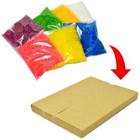 【クリックポスト便で全国送料無料】わたがし用 7色カラーザラメお試し少量セット【ざらめ / 粗目】 各100g×7袋入