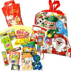 クリスマス2WAYバッグおもちゃお菓子詰め合わせ(取合せ/詰め合せ/詰合せ)