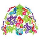 夏装飾 朝顔・金魚・うちわセンター W60cm / あさがお 飾り付け ディスプレイ
