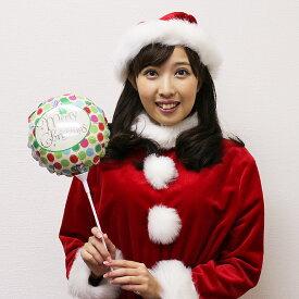 装飾用クリスマススティック風船 クリスマスドッツ/バルーン 飾り ディスプレイ/ フォトプロップス