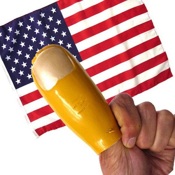 カモン!USAセット(ジャンボ親指・アメリカ国旗)