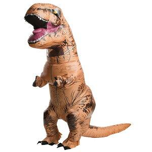 ハロウィンコスチューム 大人用インフレイタブル T-REX/恐竜 テラノ エアー着ぐるみ