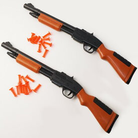 48cm 吸盤射的銃 2個組[おもちゃ お祭り景品 縁日]/ 動画有