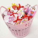 バレンタイン義理チョコ プレゼントチョコ色々50個バスケット【軽減税率対象商品】