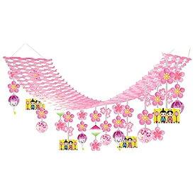 ひな祭り装飾 ひなまつりお雛様ハンガー L180cm / ディスプレイ 飾り 雛祭り