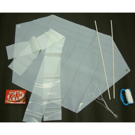 手作り凧 変形80cm六角凧 [ビニール製] 30枚