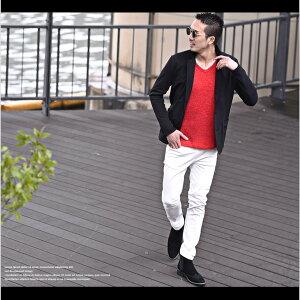 テーラードジャケットメンズ長袖ジャケットスーツカジュアル大きいサイズXLブラックグレー細身タイト無地シンプルキレイめブラックお兄系春春服春物ホストオラオラ系BITTERビター系jokerジョーカー