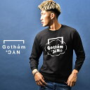 GOTHAM NYC ゴッサム エヌワイシー トレーナー メンズ ブランド 長袖 長袖Tシャツ カットソー ロンT ストリート スト…