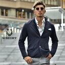 ジャケット メンズ スウェットジャケット イタリアンカラージャケット カジュアル スウェット スエット ネイビー ブラ…
