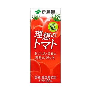 伊藤園 理想のトマト 紙パック 200ml ×24個