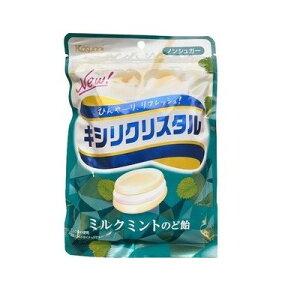 春日井 キシリクリスタル ミルクミントのど飴 71g×6個×2セット