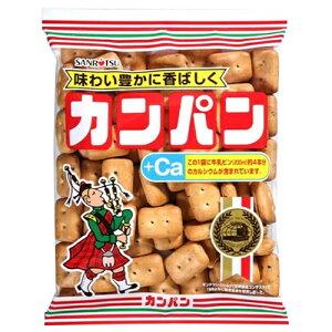 三立製菓 カンパン(200g)×10個 / サクサク感 / おやつに / 熟成発酵
