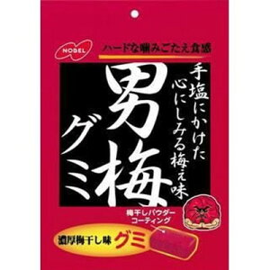 ノーベル製菓 男梅グミ 38g×6個×2セット
