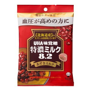 味覚糖 特濃ミルク8.2あずきミルク 93G×6個×2セット