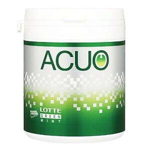 ロッテ ACUOグリーンミントファミリーボトル 150g×6個