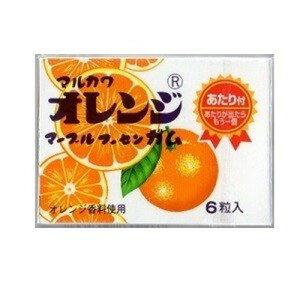 丸川製菓 オレンジマーブルガム×33個×2セット /駄菓子/子供会/お祭り/景品/