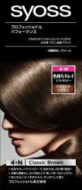 Sヘンケル SYOSS ヘアカラー クリーム4NクラシックBR 1組×36個 【送料無料】