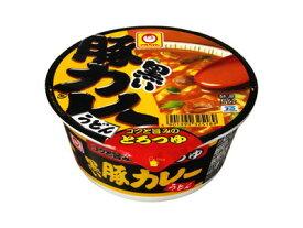 東洋水産 マルちゃん 黒い豚カレーうどん 87g×12個 【送料無料】