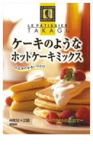 昭和産業 昭和産業 ケーキのようなホットケーキミックス 箱400g×6個 【送料無料】