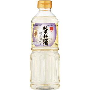 ミツカン 純米料理酒 ペット600ml×12個 【送料無料】