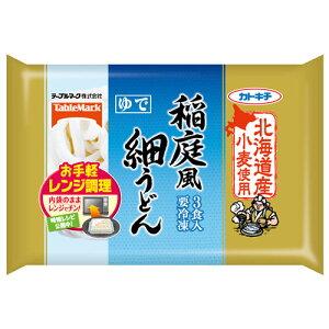テーブルマーク 北海道産小麦使用 稲庭風細うどん3食×12個 【冷凍食品】