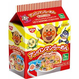 日清 アンパンマンらーめん あっさりしょうゆ味 (1パック3食入) ×9個