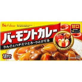 ハウス食品 バーモントカレー 甘口230g×60個