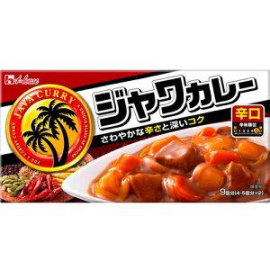 ハウス食品 ジャワカレー辛口185g×40個