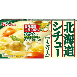 ハウス食品 北海道シチューコーンクリーム180g×20個
