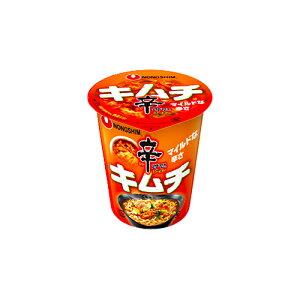 農心ジャパン 辛ラーメンキムチ カップ 68g ×12個 /白菜キムチ /マイルドな辛さ /日本人向け辛み