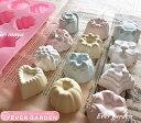 12種類 シリコンモールド 花 ハート 星 バラ 手作り 石鹸 キャンドル 粘土 バスボム レジン シリコン モールド 抜き型…