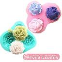【SALE】美しい バラ 2種類 シリコンモールド レジン 手作り 石鹸 キャンドル 粘土 バスボム レジン シリコン モール…