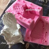 椅子 欧米風 ウェディング シリコンモールド / アロマハイストーン 石膏 / 手作り 石鹸 / レジン / 樹脂 粘土 / 型 抜き型 イス クラシック シリコン
