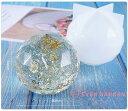オルゴナイト 多面 球体 ダイヤモンド 宝石 シリコンモールド ネックレス アクセサリー パーツ 作成 UVレジン オルゴ…