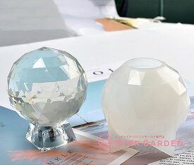 オルゴナイト 多面 球体 ダイヤモンド 宝石 シリコンモールド ネックレス アクセサリー パーツ 作成 UVレジン オルゴナイト エポキシ樹脂 樹脂粘土 型 抜き型 キット 道具