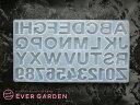 レジン アルファベット 反転タイプ 数字 英字 シリコンモールド ネックレス アクセサリー パーツ キーホルダー 作成 …