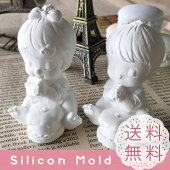【SALE】 男の子 女の子 赤ちゃん ケーキ 天使 シリコンモールド レジン アロマストーン 手作り 石鹸 キャンドル 樹脂 粘土 オルゴナイト 型 抜き型