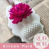 花瓶フレーム穴あき通し穴タイプ薔薇シリコンモールドレジンアロマストーン手作り石鹸キャンドル樹脂粘土オルゴナイト型抜き型