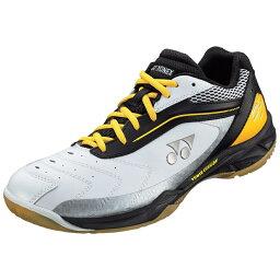 優乃克YONEX羽球鞋羽球鞋低切3E設計功率靠墊65 POWERCHION65 SHB-65黑色/黄色(400)