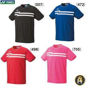 【在庫限り激安!】ヨネックス YONEX ウエア メンズゲームシャツ(フィットスタイル) 10353 バドミントン ソフトテニス